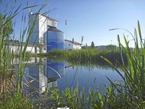 Kläranlage Peißenberg mit Biotop